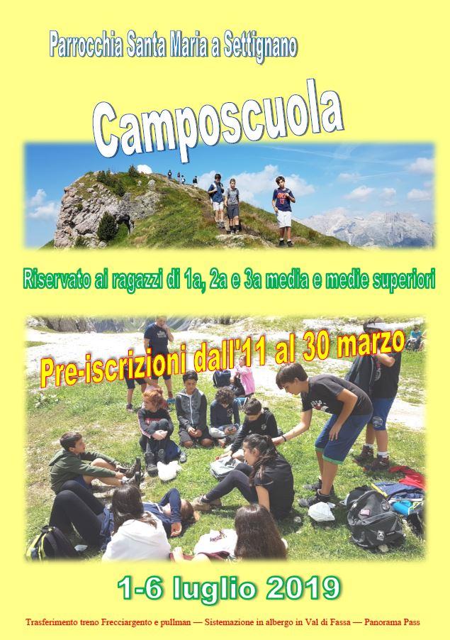 Camposcuola 2109